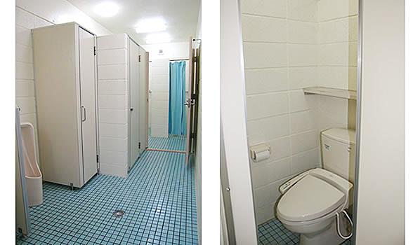 トイレにはウォシュレットを完備