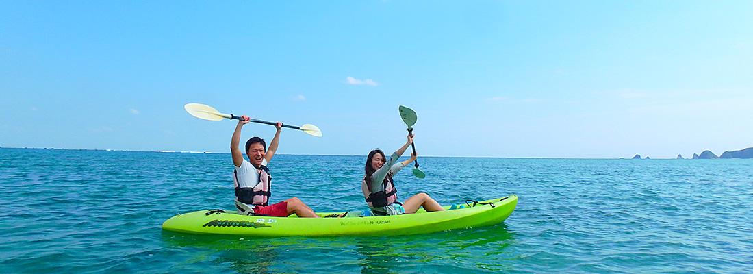 沖縄 カヌー体験